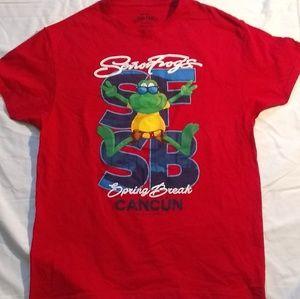Senor frogs fresh design spring break shirt